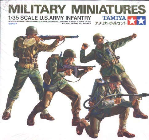 U.S. Army WWII Infantry Scale 1:35